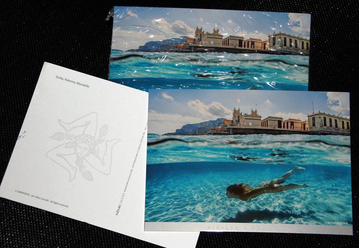 Cartolina Sime Mondello - Fabio Corselli Fotografia
